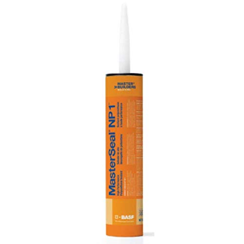Masterseal NP-1 Stone Polyurethane Sealant Cartridge, 12 - 10.1 Fluid Ounce Cartridges BASF