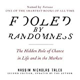img - for Fooled by Randomness (An Unabridged Production)[8-CD Set]; The Hidden Role of Chance in Life and in the Markets book / textbook / text book