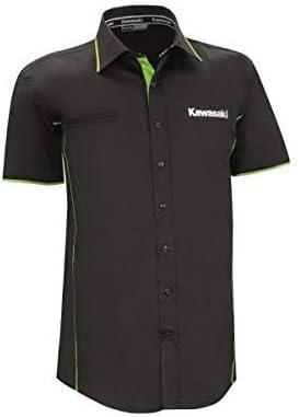 Kawasaki Deportivo Camisa Hombre Manga Corta - XS/S: Amazon.es: Coche y moto