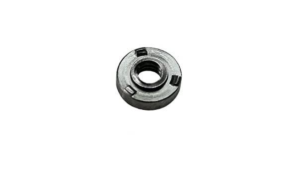 6-32 THD x 3//8 OD UNICORP THN5003-M07-F16-632 3//8 Round Knurled Thumb Nuts Stainless QTY-100