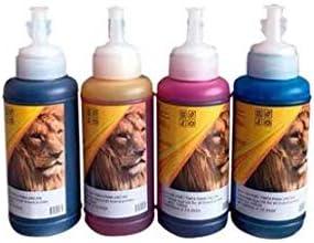 na Tinta GENERICA Eco Dye Universal 100 ML para impresoras de Tinta Continua Cualquier Marca Epson, Canon, HP, Samsung, Xerox, Brother, Lexmark (Amarillo)