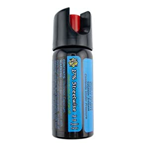 2 pack Worlds Hottest Police 2oz 17% Streetwise Pepper Spray