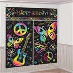 neon doodle party supplies - 2