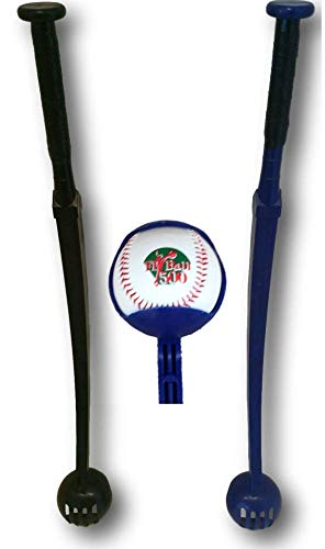 2 Baseball Launcher's for Pop up & Ground Ball Training Number 1 Baseball Training Aid for Outfield and Infield - Baseball Aids Fielding
