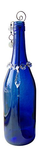 GypsyBeat Caribbean Wave Bottle Art Incense Burner Holder / Smoking Bottle (With 1 Mystery Pack of Incense) GBIB-CWAVE - Glass Incense Burner