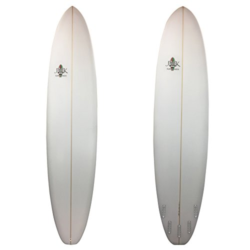 The Super Fun Longboard Surfboard 8ft 6in x 23in x 2 3/4in JK Surfboards Made Locally in So Cal! by JK Surfboards