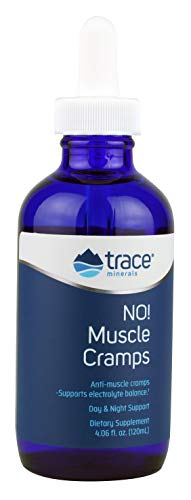 Trace Minerals Liquid No! Muscle Cramps Supplement, 4.06 Ounce (Best Magnesium For Muscle Cramps)