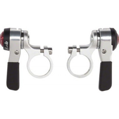 MicroShift Flat Bar Double/Triple 10 speed thumb Shifters - Thumb Bar