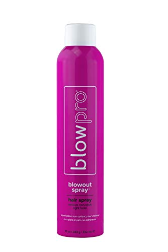 blowpro Blow Out Serious Non-Stick Hair Spray 10 Ounce Extra Hold Hairspray - Ultra Fine Misting Finishing Spray - Lightweight Finish, Non Stick- Conditioning Styling Spray - Anti Humidity Hair Spray