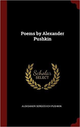 Book Poems by Alexander Pushkin