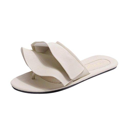 Mariage Les De Bon Plat Pantoufles Mince Rabat Blanc Femmes Marché Personnalisé 6 Lolittas Flops Puce Sandales Plage String Pour Size2 Boho xwYpW7