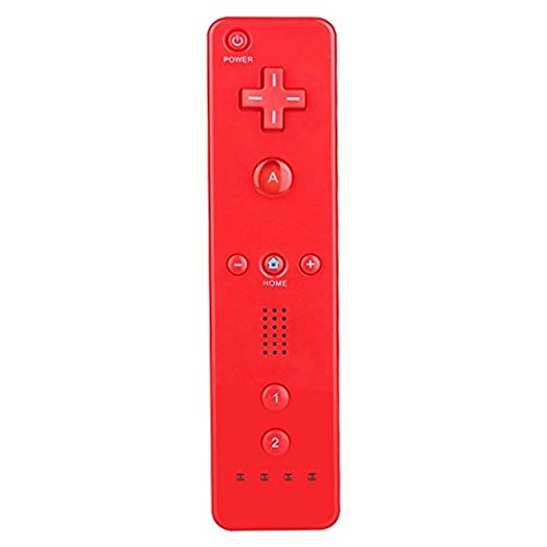SIBIONO-Remote Controller for Nintendo Wii Video Game(NO MOTION PLUS). (RED) Review