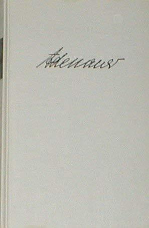 Erinnerungen 1945 - 1953 von Konrad Adenauer