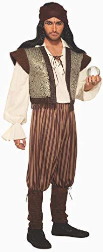 Forum Men's Woodland Fortune Teller Costume, Brown/Gold, Standard
