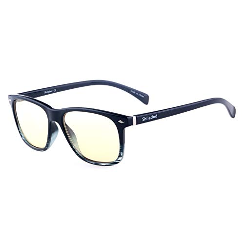 bab13e69554 Computer Glasses Blue Light Blocking Glasses Better Sleep Shileded Anti  Blue Light Glasses