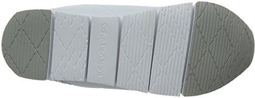 Calvin Klein Jeans Women's Taja Mesh/Hf Low-Top Sneakers White (Wsi 000) 9sMlX5