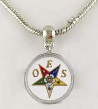 Natnicha OES Order of Eastern Star Dangle Charm