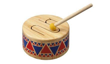 Plan Toy Solid Wood Drum (Drum Garden)