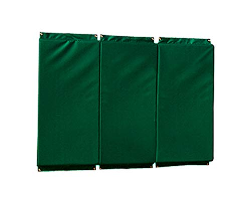 SSG Standard Folding Backstop Padding (4ft x 6ft) Color: Dark Green