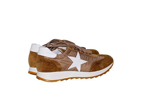 Sneakers Turnschuhe aus Leder Slipper Sportlich Damen RIPA shoes - 05-7600