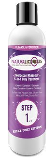 Moroccan Rhassoul 5-in-1 Clay Treatment (For Tight Coils + Curls)