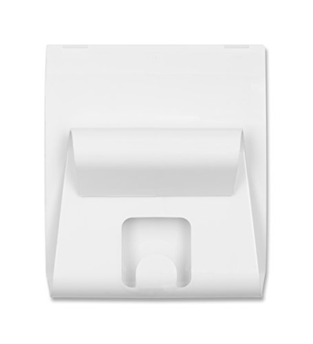 U Brands Gruv Magnetic Mail Holder with Key Hook, White, 3.5 x 3.25 Inches by U Brands (Image #1)'