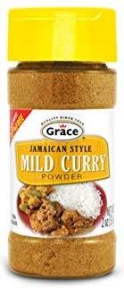 (MILD CURRY POWDER - JAMAICAN STYLE 2 OZ)
