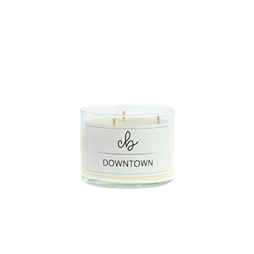 Tobacco and Floral Mix Scented Soy Candles - Downtown - CandleBox Store - 10.5 Ounces, 40 Hours Burn Time, - Downtown In La Stores