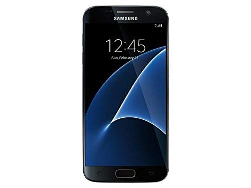 Samsung Galaxy S7 - Black - 32GB - Verizon (Renewed) (Galaxy S4 Refurbished Verizon)