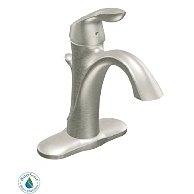 Moen Eva One-Handle High Arc Bathroom Faucet by Moen