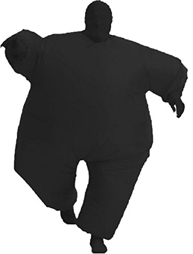 Chub Suit Inflatable Blow up Full Body Jumpsuit Costume (Black Inflatable Adult Costumes)