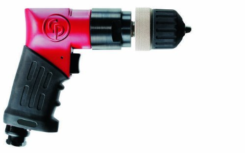 Chicago Pneumatic CP9287 Heavy Duty 3/8-Inch Drill, Keyless Chuck