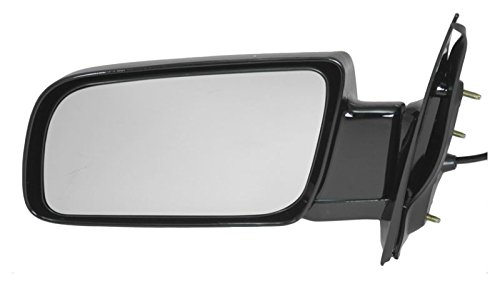 Astro Mirror Lh Driver - Black Folding Power Side View Mirror Driver Left LH for 1999 Chevy Astro Safari