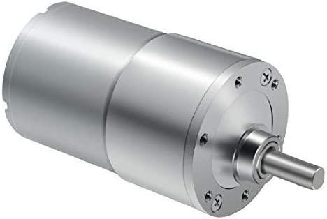 Yadianna DC Gear Motor High Torque Reversible Electric Geared Motor 24V//40RPM with Eccentric Output Shaft Gearbox