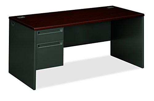 HON Pedestal Desk with Lock