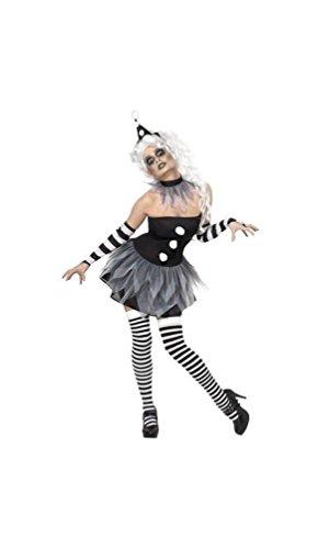 Sinister Pierrot Costumes - Sinister Pierrot Costume - Medium -