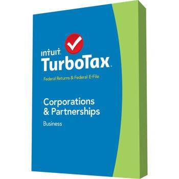 Turbo Tax Business 2014 CORPORATIONS & PARTNERSHIP, Estates & Trusts, Federal Returns & Federal E-File