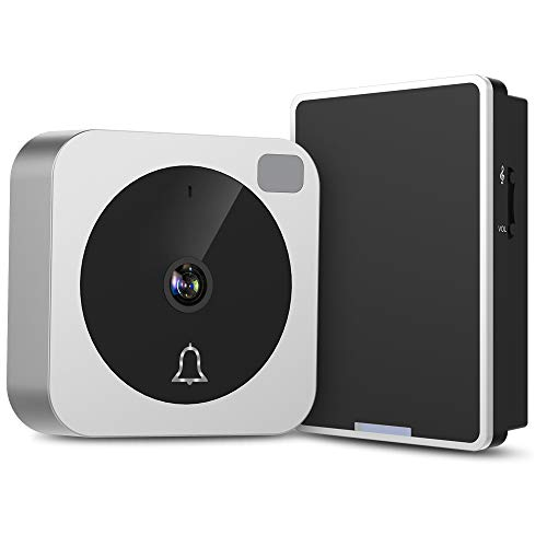 Video Doorbell, NETVUE Wireless Doorbell Camera with Two-Way Talk, IR Motion Detection, Night Vision, Compatible with Alexa Echo Show, Wifi Camera Doorbell with Cloud Storage [Wall Plug Included] (A) by NETVUE (Image #9)