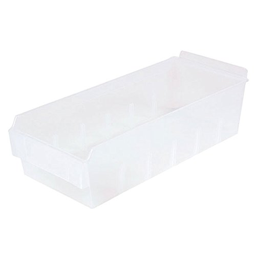 Retail Clear Shelfbox Style 300 measures 13.18''d x 5.51''w x 3.74''h by Shelfbox