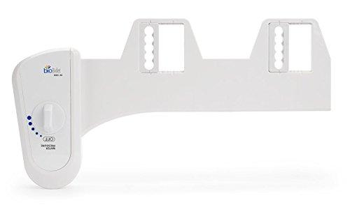 Bio Bidet Simplet BB70 Fresh Water Spray Non-Electric Mechanical Bidet Toilet Seat Attachment, Metal Hose, White by BioBidet (Image #8)