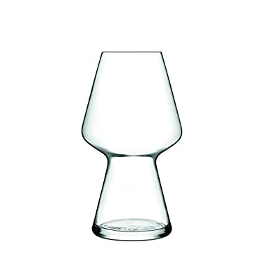 Luigi Bormioli Birrateque Craft Beer Glasses Seasonal (Set of 2), 23.25 oz, Clear