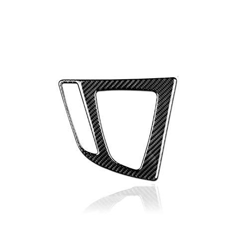 (FidgetKute Carbon Fiber Gear Shift Panel Interior Trim Decor for BMW 2 3 4 Series)