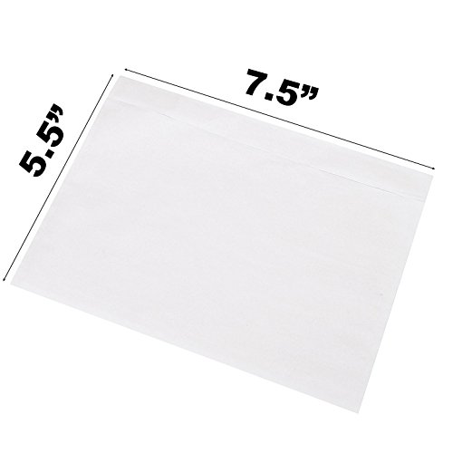 Sales4Less Packing List Envelopes 7.5