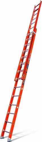 Little Giant Ladders 15642-009 Lunar Duty Rating Fiberglass Extension Ladder, 28-Feet - Ladders Fiberglass 28 Feet