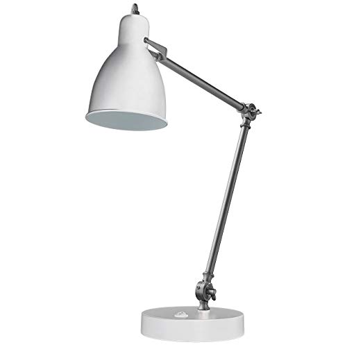 Rivet Caden Adjustable Task Table Lamp with Bulb, 28.5