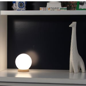 With Its Small Shape And Eye Catching Design, This Accent Lamp Is  Well Suited For Use In Any Small Space. It Is Detailed With A Standard Cord  That Can Be ...