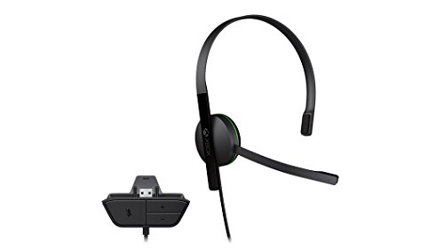 Xbox One Chat Headset (Bulk Packaging) (Expansion Port) (Chat Port)