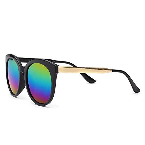 Gafas de retro sol grande gafas mercurio colorido sol de A NIFG de caja BXxd64wqB