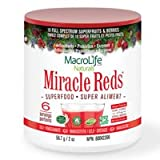 Miracle Reds Superfood 60 Day Supply (20 Ounces) - MacroLife Naturals - Powerful Antioxidant Blend
