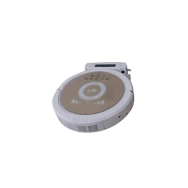 L Y. Robotic Vacuum Cleaner with IR control, Recharge,UV Light (GRAY)